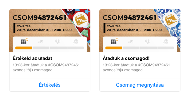 CsimiCsomag : Messenger Generic template
