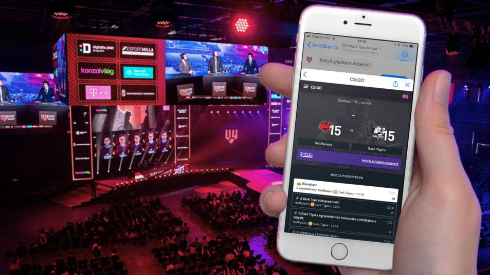 V4 Future Sport Festival - Messenger chatbot - RoboRobo