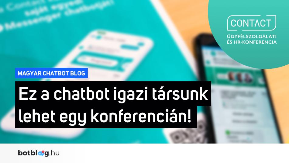Contact konferencia chatbot