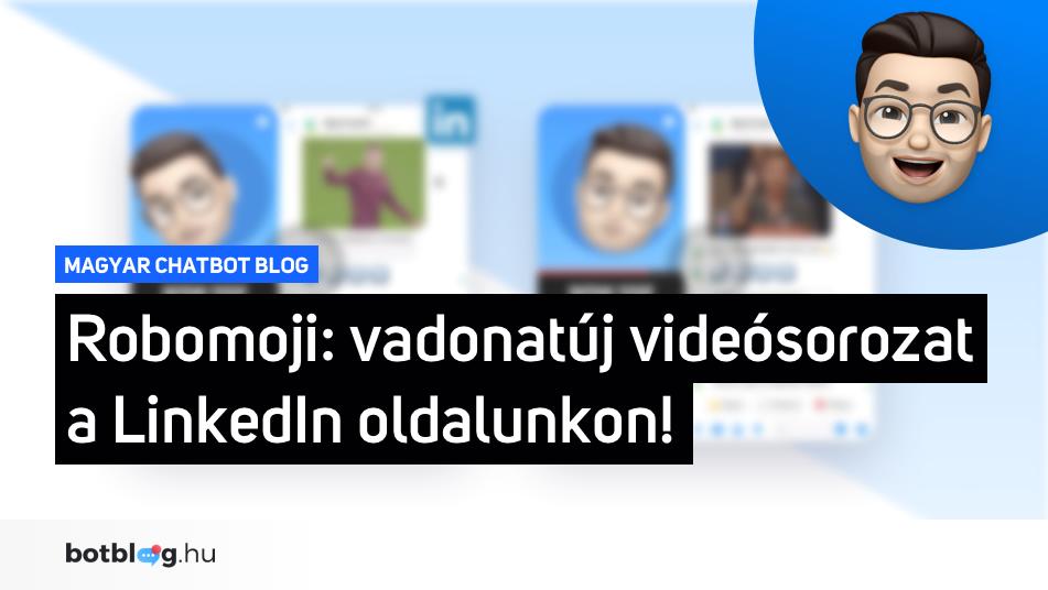 robomoji chatbot linkedin video