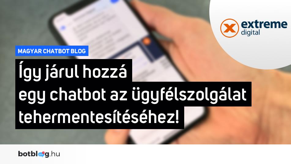 extreme digital chatbot ügyfélszolgálat